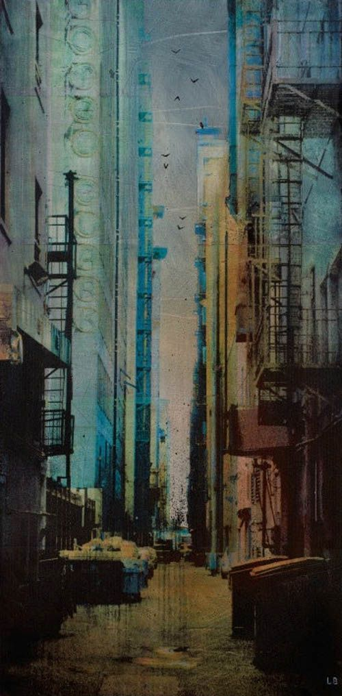 Urban Landscapes by Liz Brizzi