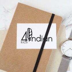 4 kicsi indián blog logo terv