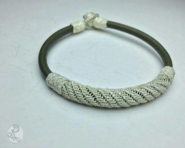 Kazaziye#El yapımi#handmade#deri#kişiye özel#tasarım#moda#hautecoutere#gümüş#silver