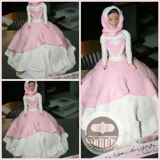 ... Hijab Cake.  Le Beurre Bakery  Pinterest  Dolls, Hijabs and Cakes