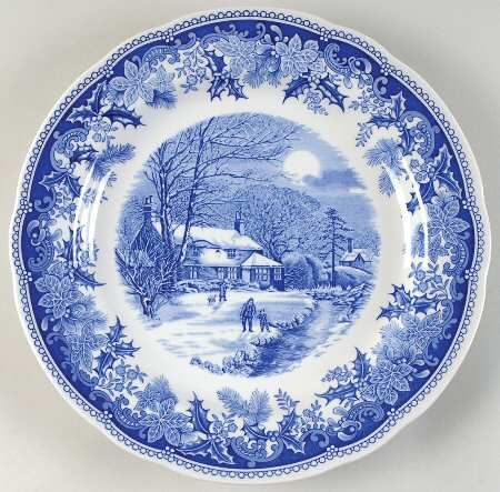 Spode Winter's Eve: Eve Blu Camilla, Winter Eve Blu, Ch Blue, Spode, Camilla Shape, Dishes, Z Boards Closed Transferwar, Blue Moon, China