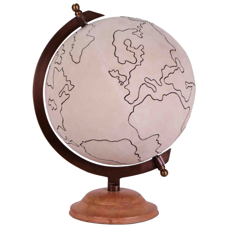 Jamie Young Decor Large Canvas Globe @LaylaGrayce
