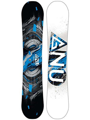 GNU Carbon Credit Asym Wide Snowboard Mens Sz 156cm (W) – Snowboards