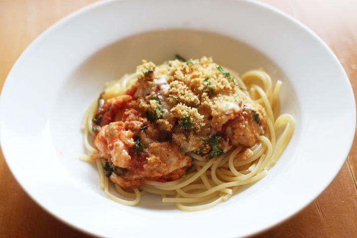 chicken paremesan casserole recipe