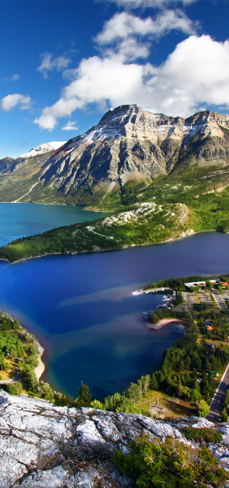 Waterton Lakes National Park in Alberta, Canada! 10 Amazing Things To See And Do In Alberta, Canada! Visit Jasper National Park | Columbia Icefields | Banff National Park | Lake Abraham | Lake Louise | Peyto Lake and so much more!