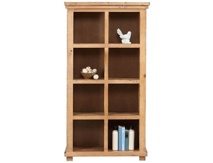 Slumberland | Willow Collection - 64in Pine Bookcase