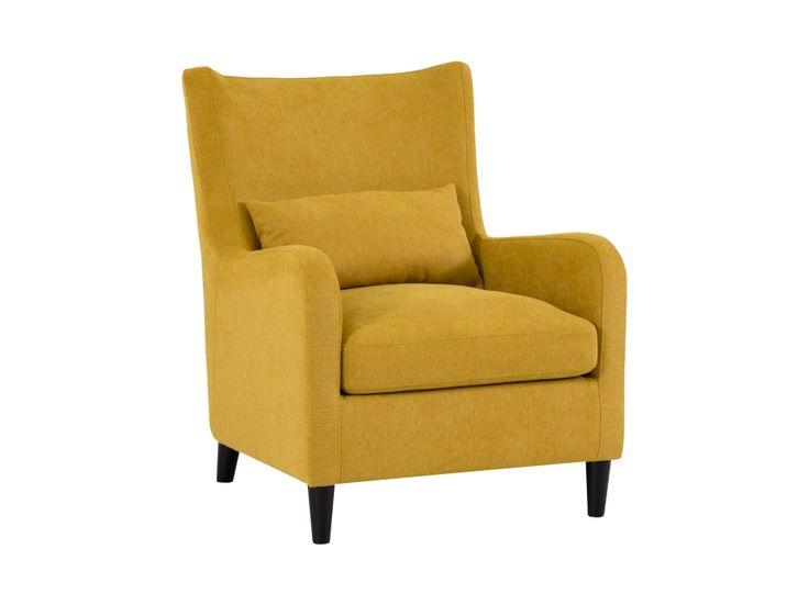 JACK Fåtölj Gul i gruppen Inomhus / Fåtöljer / Fåtöljer hos Furniturebox…