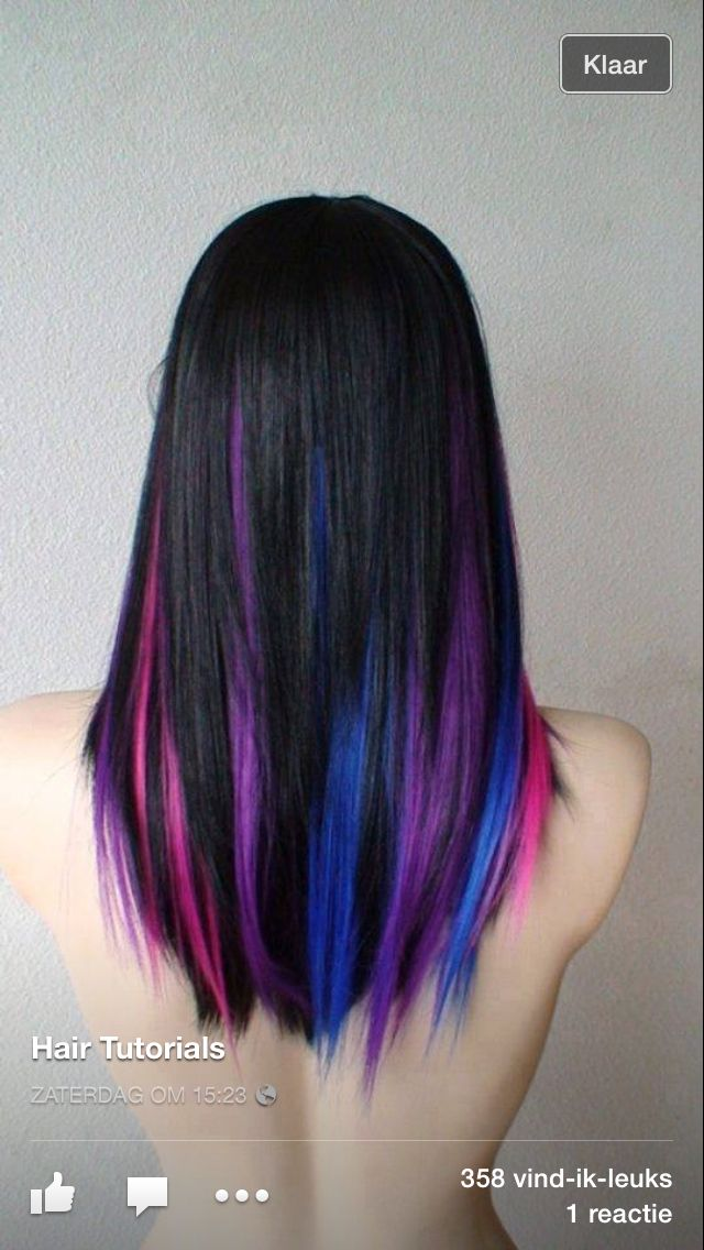 Actually, dying my hair like this would be fine to...bucket list!
