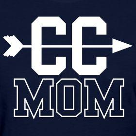 Cross Country Mom Women's T-Shirt | Girls Sports Apparel