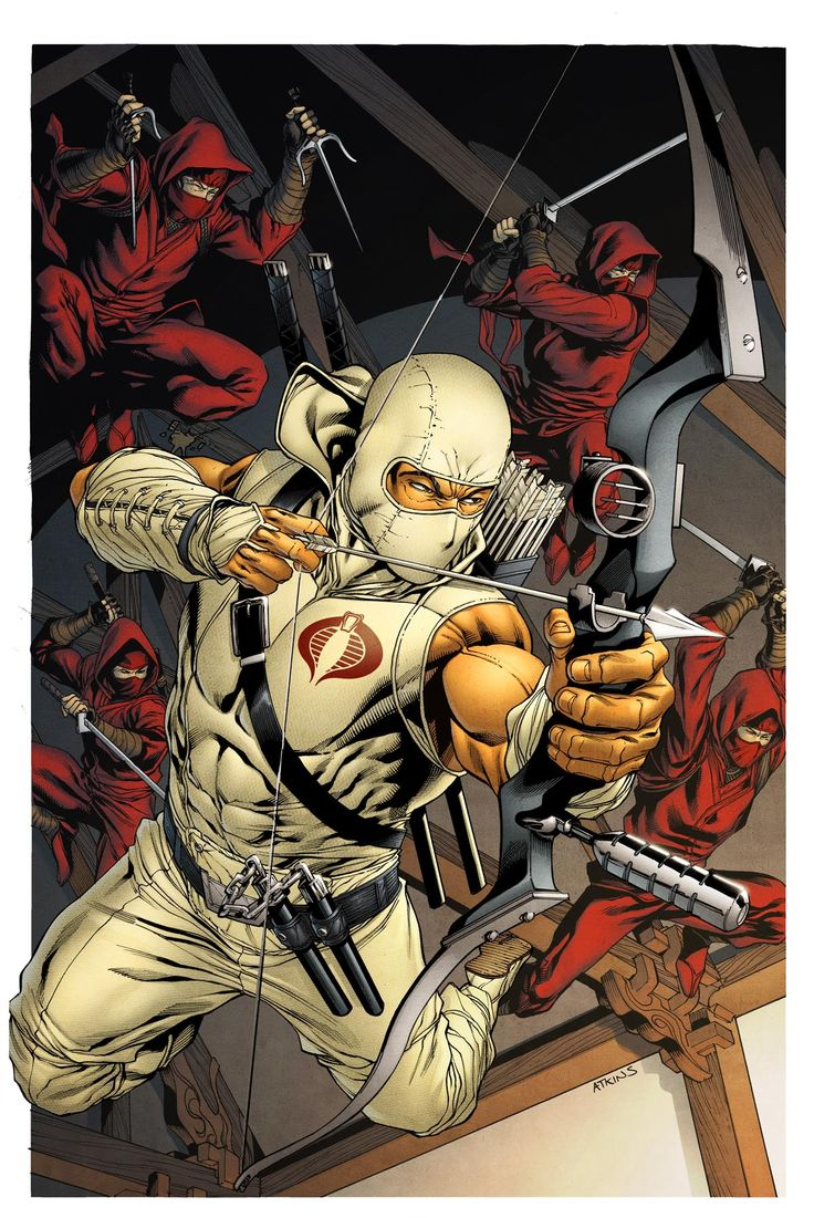 snake eyes storm shadow | Storm Shadow (Character) - Comic Vine