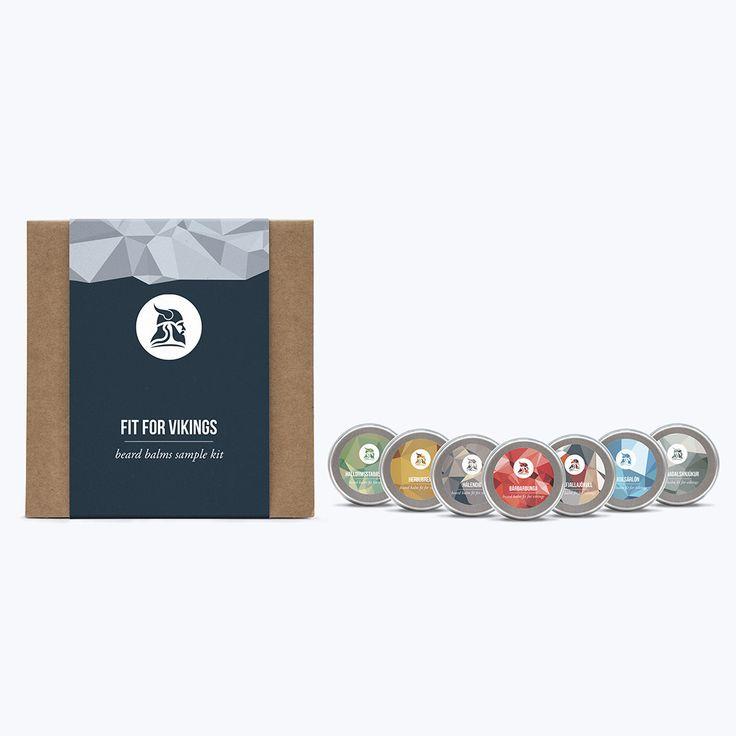 Beard Balms Sample Kit