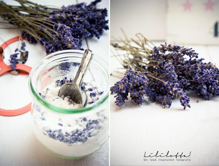 Lililotta!: DIY/Lavendel-Milchbad