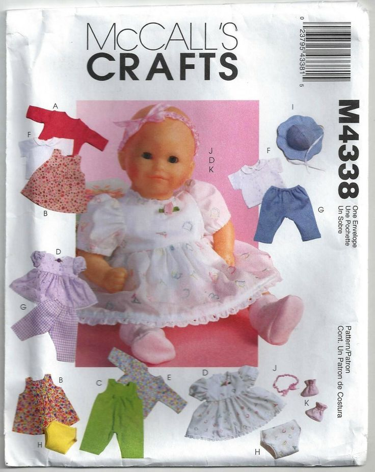 86 best sewing craft patterns books images on for 5 inch baby dolls for crafts
