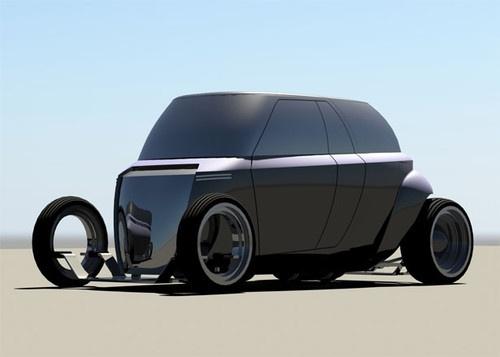 Compact Camper Van, future vehicle, John Bridge