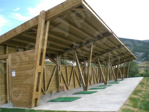 Campos de golf – Instalaciones deportivas | Protec Madera