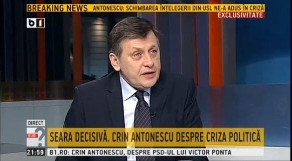 Crin Antonescu i-a raspuns taios colegului de partid, Calin Popescu Tariceanu, care a vorbit despre o negociere nepotrivita cu PSD. Presedintele liberal a convocat maine BPN al PNL tocmai pentru a c