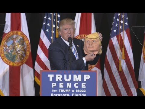 11 07 16 // Full Speech: Donald Trump Rally in Sarasota, Florida (11/7/2016) Trump Live Sarasota Florida Speech
