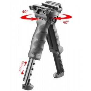 GDT Tactical Military Foldable Foregrip Bipod Grip M16 AR-15 AK-47 AR-10 new style