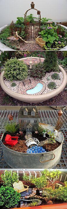 Миниатюрные сады.