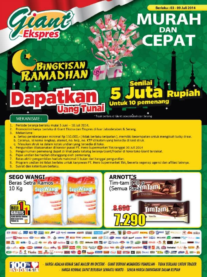 Giant Ekspres: Promo Long Weekend @GiantIndo