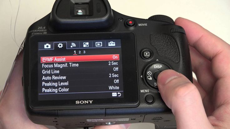 Sony Cyber-shot DSC-HX400V Update and Menu Diving in 4K