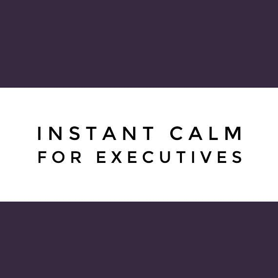 Instant Calm for Executives Guided Meditation Audio
