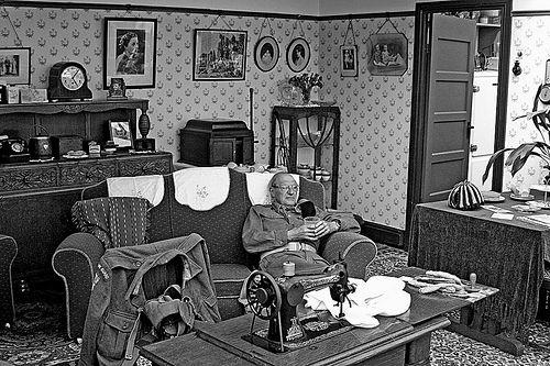 1940's Living Room                                                       …