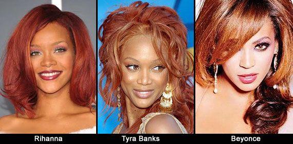 Capelli rossi: consigli per valorizzarli - Il rosso è un colore molto glamour, davvero sexy ed elegante. Il rosso è una tonalità che va bene su quasi ogni carnagione, non è vero che è migliore sulle pelli chiare. Per notarlo basta vedere come dona alla perfezione su carnagioni caffè-latte come quelle di Rihanna, Tyra Banks o Beyonce.