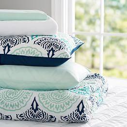 Girls Bedding Sets, Bed Comforter Sets & Deluxe Bedding Sets   PBteen