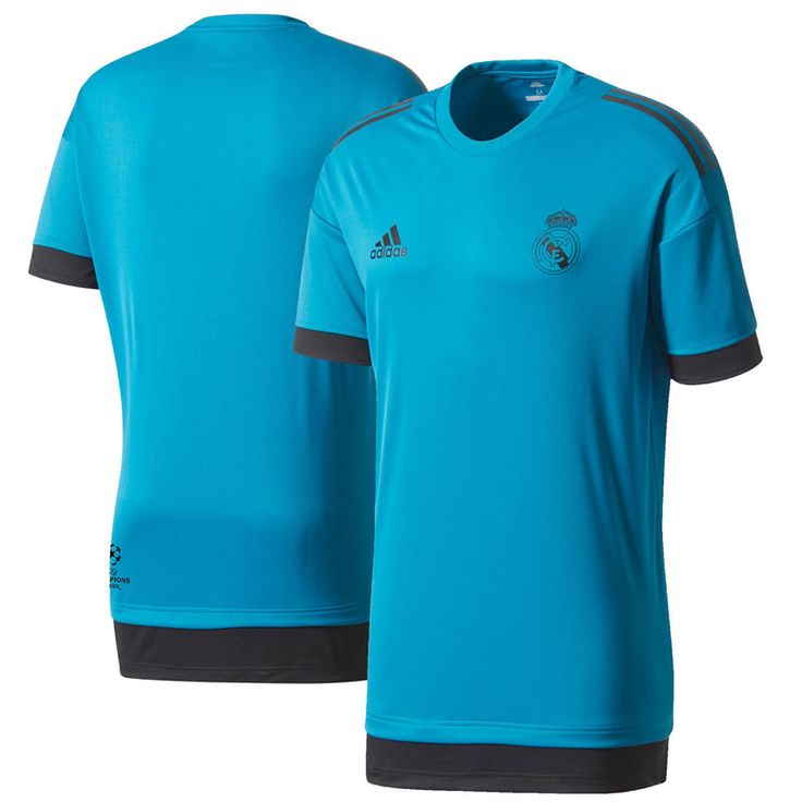 Real Madrid adidas 2017/18 Training Jersey – Teal