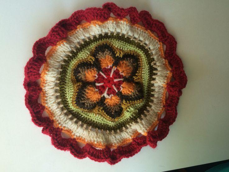 Potholder toma hoyas #crochet by Maureen robeson