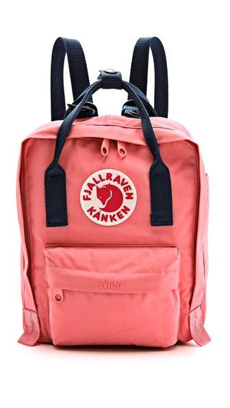 Fjallraven Kanken Mini Backpack ~ I need this for festival season next year!