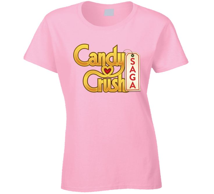 Candy Crush Saga Video Game Logo T Shirt