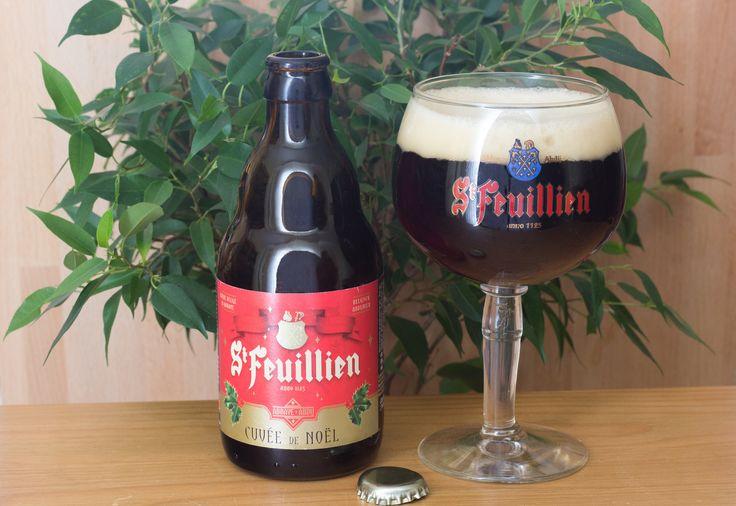 """Cuvée de Noël - Cuvée de Noël (brasserie St Feuillien - Belgique) -  #BeeryChristmas 06/12/2015 -  """"Saveur-Biere.com"""" -  https://twitter.com/FranckRouanet/status/673467295553859584/photo/1"""