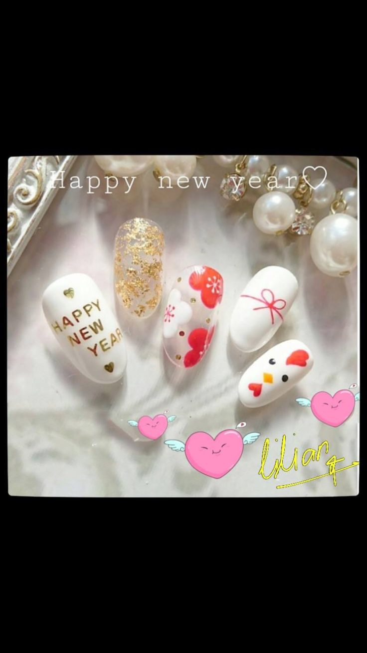 The 65 best 2017 Chinese New Year Nail Art Design images on ...