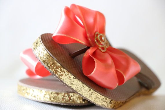 Custom WEDDING Flip Flops BRIDESMAID Flip by Glamtouchboutique, $30.00