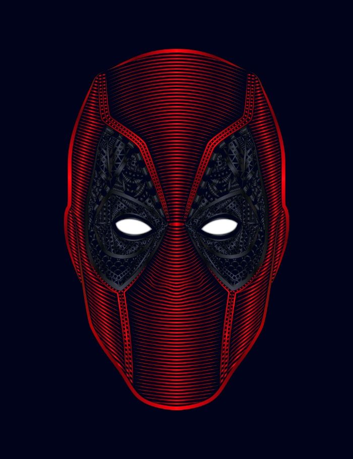 DEADPOOL / The Merc With The Mouth Art Print by Nathan Owens & Biah Martins
