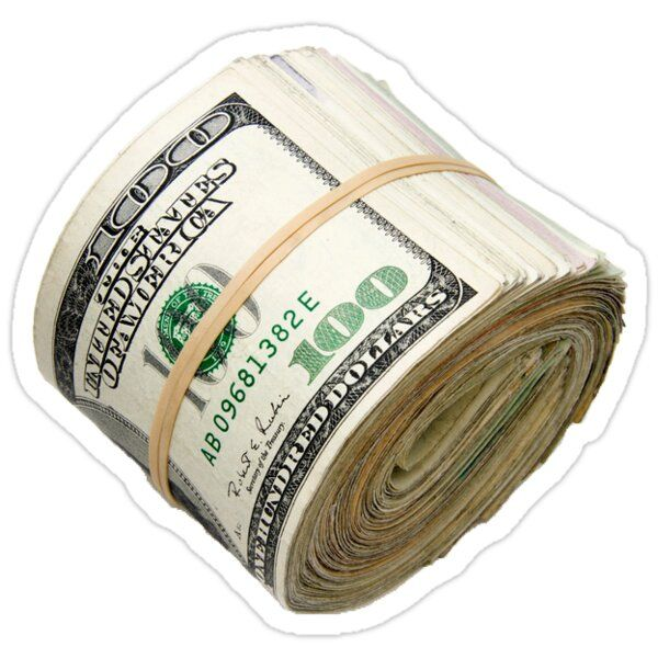 A Roll Of Money Sticker By Mrbusysocks In 2021 Money Stickers Ways To Save Money Investing Money