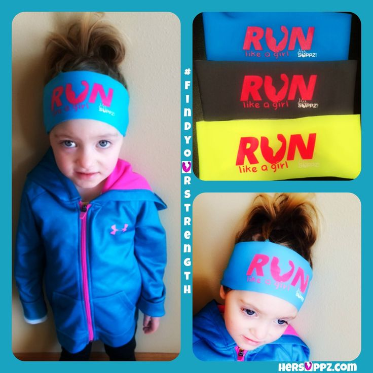 "Seriously. it's awesome to ""RUN like a girl"" #addiestrong Only $7.99 Girl RUN Headband http://hersuppz.com/her-suppz-girls-run-bondiband.html"