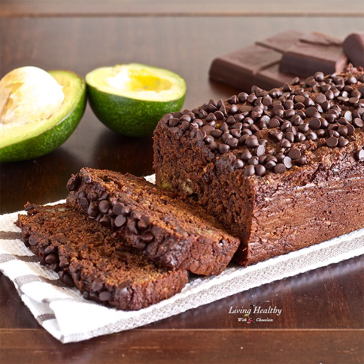 Avocado Chocolate Bread Recipe (Paleo, Gluten and Grain Free, Dairy Free) by LivingHealthyWithChocolate