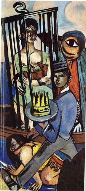 Max Beckmann - Right Panel from Triptych of the Temptation of St. Anthony, 1937