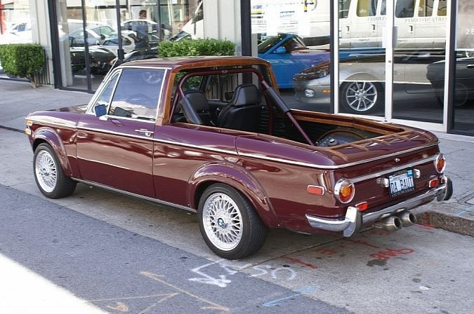 We have been down this road several times now. Not matter how much certain individuals desire a BMW pickup truck, they just don't make them. But since they