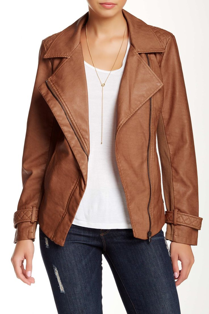 Drape Front Jacket by BNCI by Blanc Noir on @nordstrom_rack