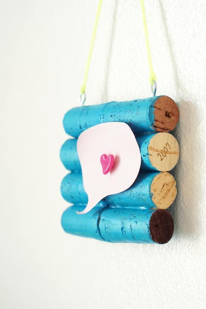 How To Make A Mini Diy Cork Board Crafts Super Cool Crafts Diy