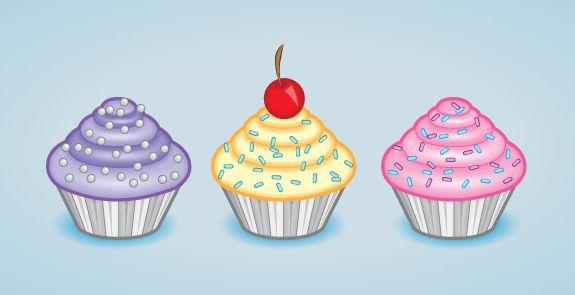 Create a Tasty Cupcake Icon in Adobe Illustrator | Vectortuts+