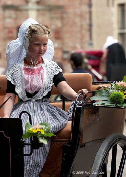 Child in Zeeland costume