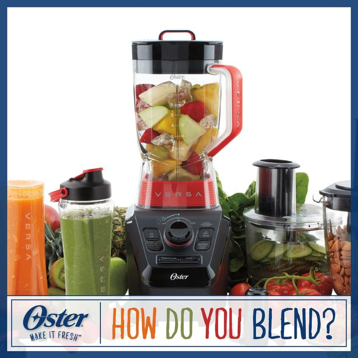 From flavorful salad dressings to refreshing drinks, Oster® Blenders can make so much more than smoothies! Visit https://www.facebook.com/OsterBlending/app_600948003314659?ref=ts to enter our Pinterest sweepstakes and pin your favorite blender recipe for your chance to win an Oster® Versa® Performance Blender! Sweepstakes ends 4/10/15. #Oster #Blending #Blender #Sweepstakes #Recipe #PinToWin [Promotional Pin]