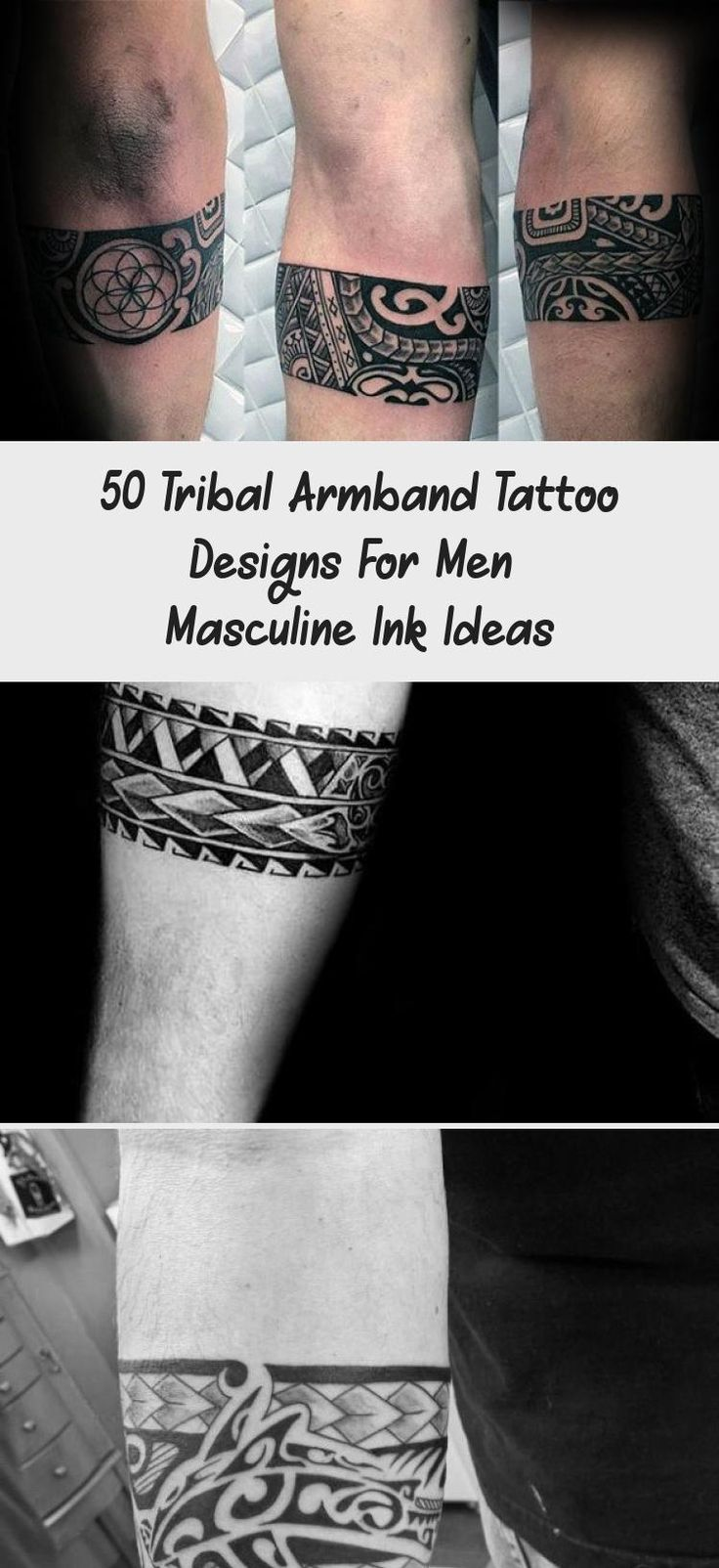 35+ Awesome Tribal armband tattoo designs ideas in 2021