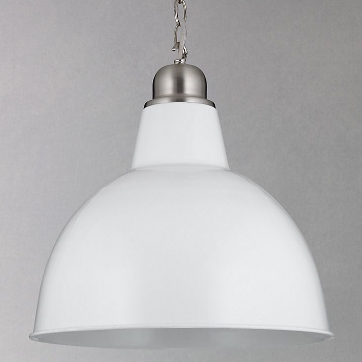 John Lewis White Ceiling Lights : Croft collection aiden factory ceiling light john lewis