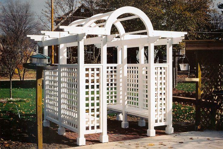 Bench Trellis Minus The Arches Gates Fences And Arbors Pinterest Google Images Trellis
